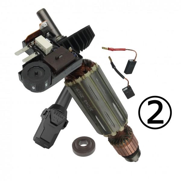Servicepaket 2: Fräsmotoren + DGUV 3 Prüfung