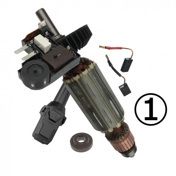 Servicepaket 1: Fräsmotoren